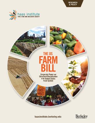 Farm Bill Report Cover